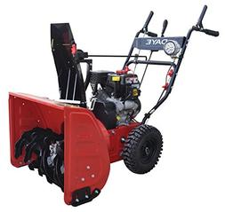 DAYE DS24E 24-inch 208cc Electric Start 2-Stage Snow Thrower