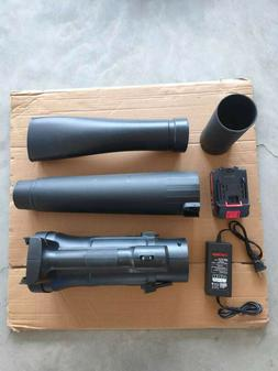 Electric Leaf & Snow Blower - 21V Leaf Blower Cordless with