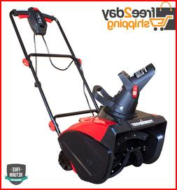 Electric Snow Blower 18 in. 15 Amp Corded Power Smart NEW