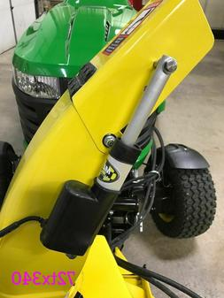 electric snow blower thrower spout chute control