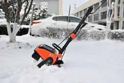EJWOX Electric Snow Thrower 9 Amp 16-Inch Corded Snow Blower