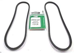 Genuine MTD 954-0430B Set of 2 Cogged Auger Belts Replaces 7