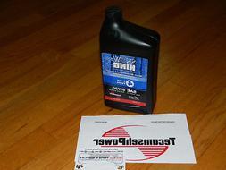 GENUINE Tecumseh snowblower engine oil 730226B 5W30 1QT MADE