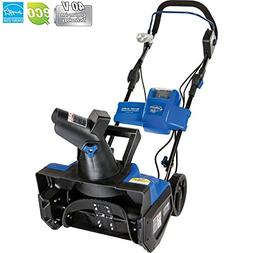 Snow Joe Ion Cordless Single Stage Snow Blower W/Rechargeabl