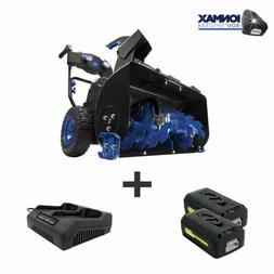 Snow Joe Cordless Two Stage Snow Blower | 24-Inch | 4-Speed