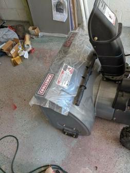 Kraftman Two Stage Snow Blower: opened never used!