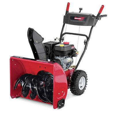 1 24 179cc two stage snow blower