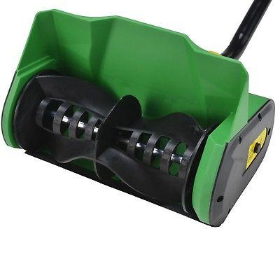 12 9 amp electric snow thrower blower