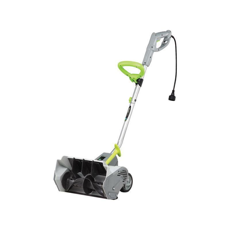 12 amp electric snow thrower power shovel