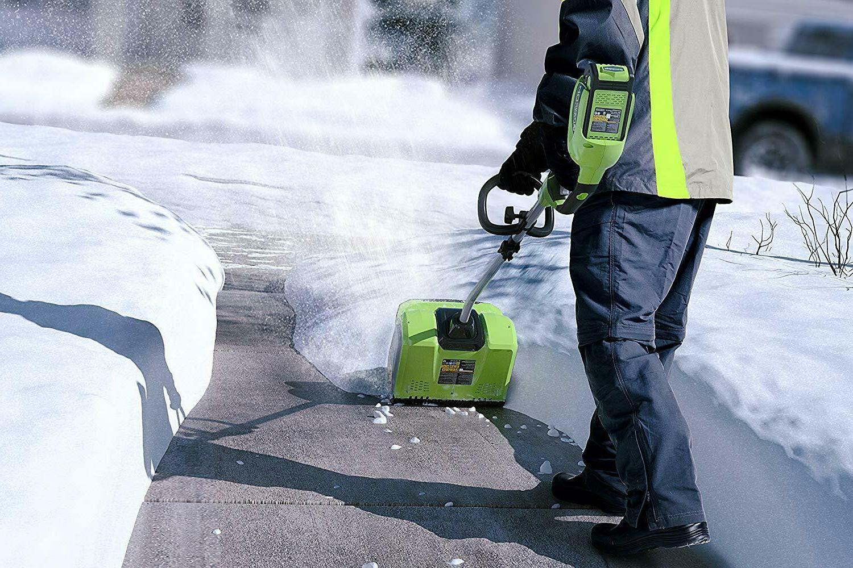 Greenworks 12-Inch 40V Snow Included