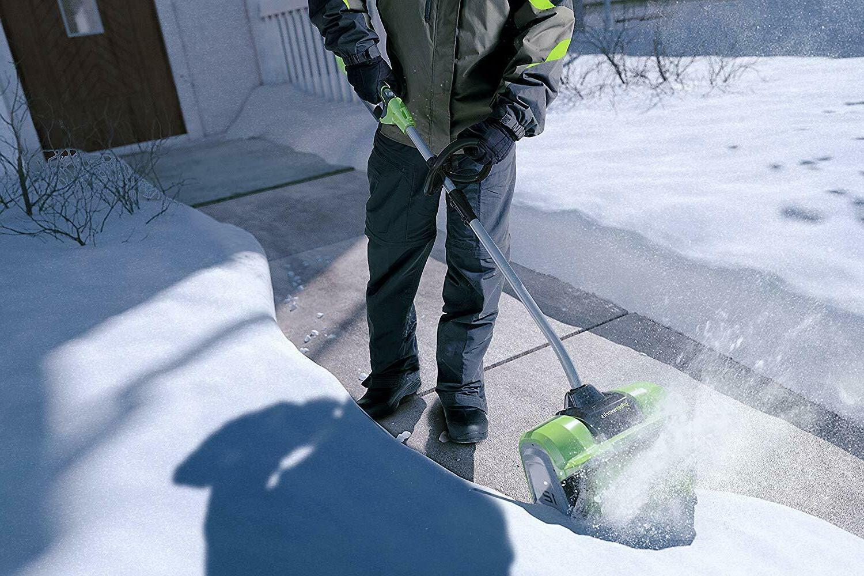 Greenworks 12-Inch 40V Snow Shovel Included
