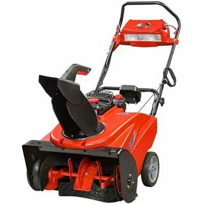 Simplicity 1222EE  250cc Deluxe Single Stage Snow Blower w/