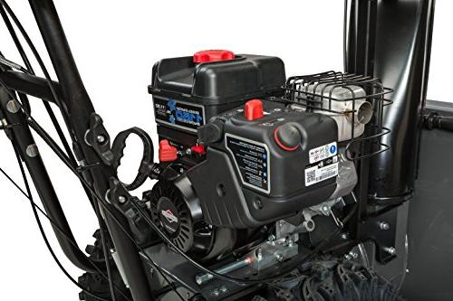 Briggs Stratton Dual-Stage Snow Blower Heated Grips, Electric Start, Series 1227