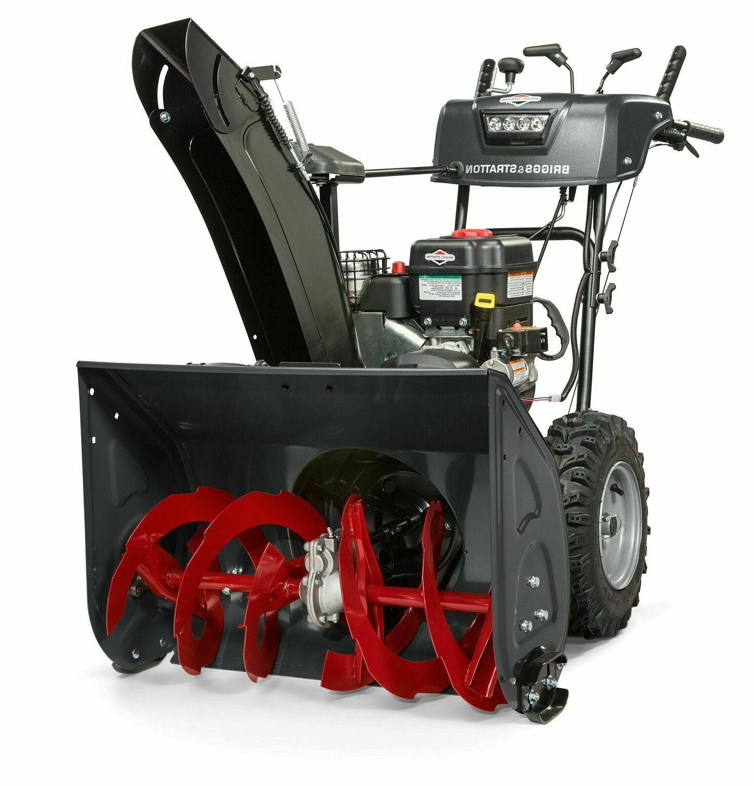 1227mds dual stage snowthrower snow