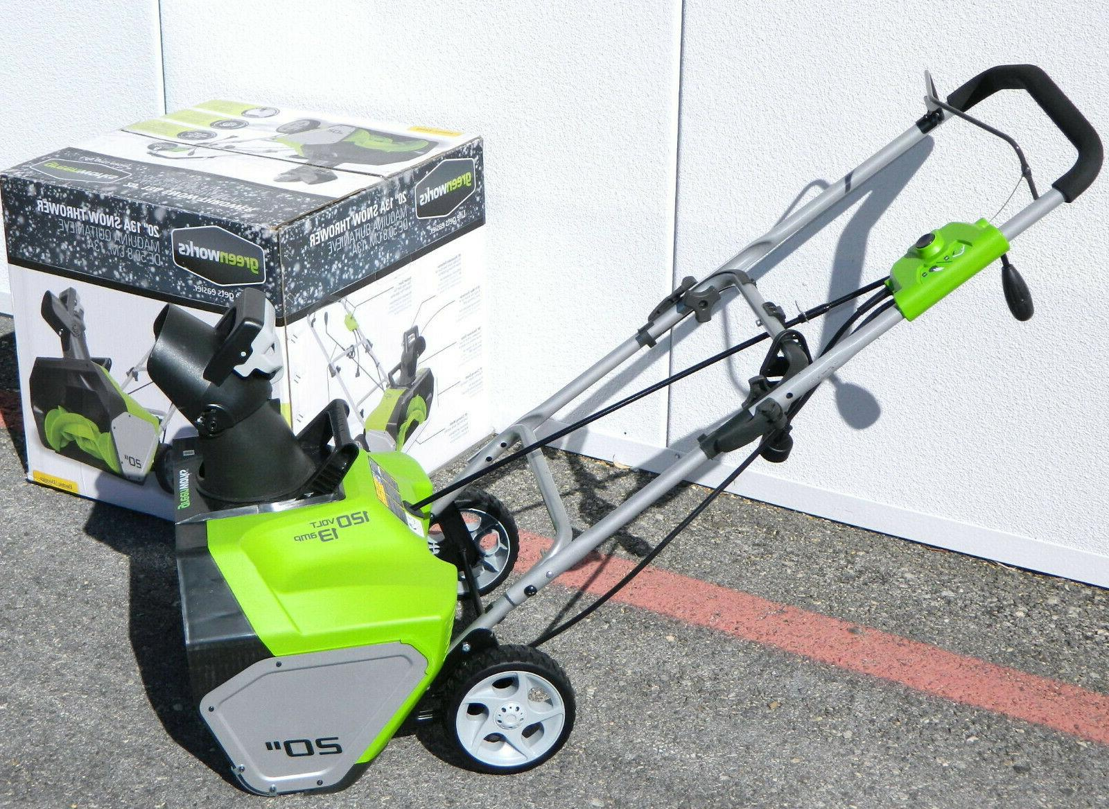 GreenWorks 20-Inch Corded-Electric Blower Cleaner