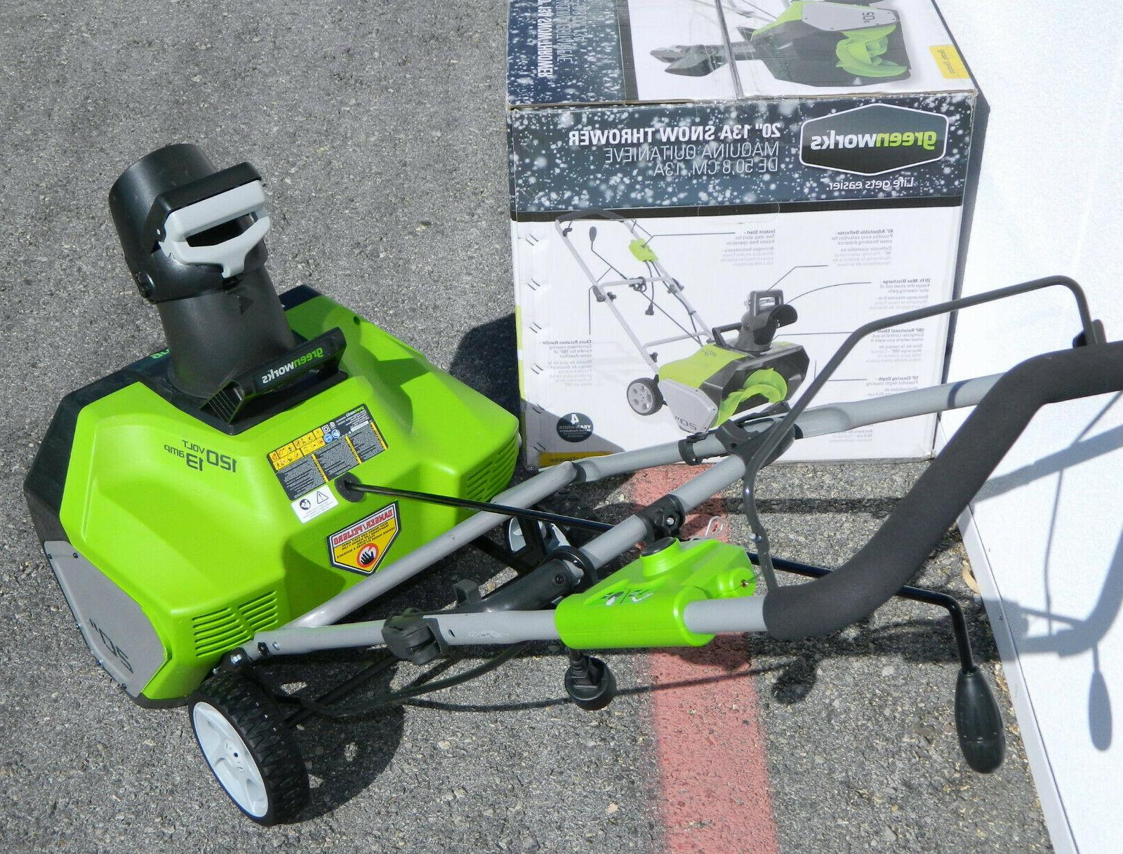 GreenWorks Amp Corded-Electric Remover Blower Cleaner