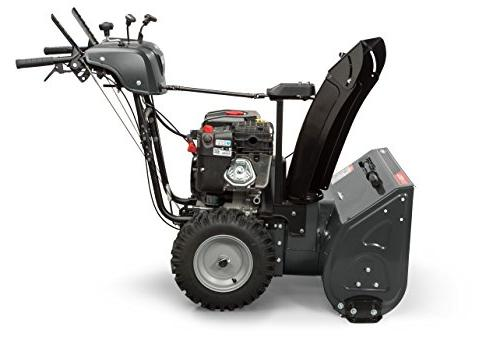 Briggs Stratton Dual-Stage Snow Hand Grips, Steering, and Snow Series Engine,