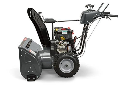 Briggs Dual-Stage Snow Blower Hand Grips, Dual-Trigger Steering, and 306cc Snow Series Engine, Elite 1530