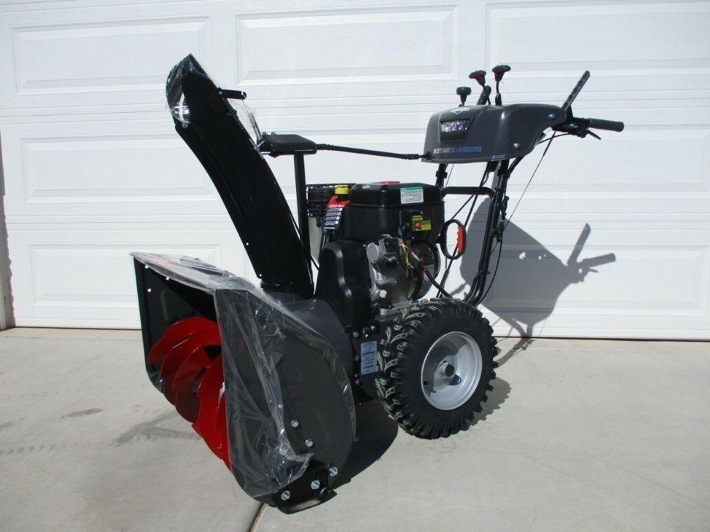 1530mds dual stage snowthrower snow