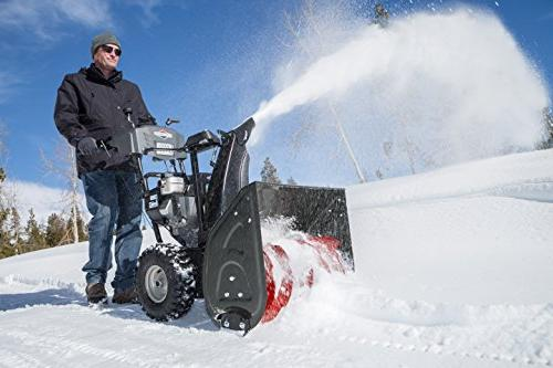 Briggs & Stratton 306cc Dual Stage Snow Start
