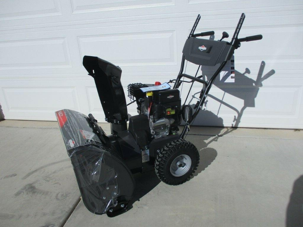 1696610 dual stage snow thrower