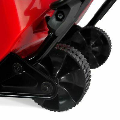 """18"""" 1600W Electric Blower Thrower Throws Snow 30'"""