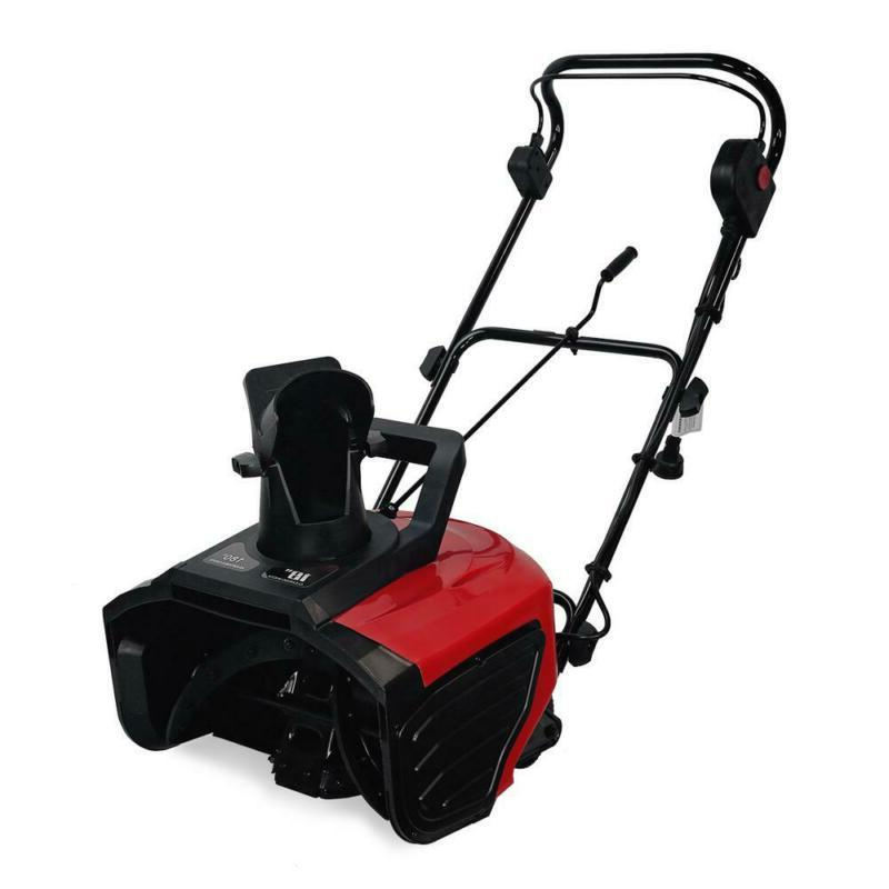 18 in. 13 Amp Corded Electric Snow Thrower