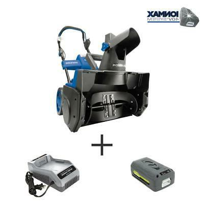 18 in. 40-Volt Cordless Electric Snow Blower