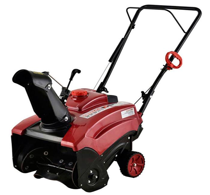 18 inch single stage self propelled electric
