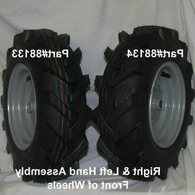 2) 4.80-8 480x8 4.80x8 WHEELs Garden Thrower