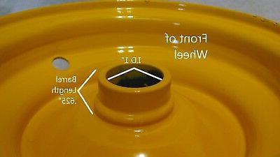 """6"""" RIM Husqvarna Kart Lawn 6x3.25"""