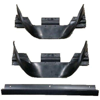 2 auger paddle impeller half and 1