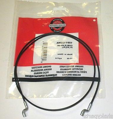 1501123ma Murray 2 Stage Snowblower Upper Drive Cable      1