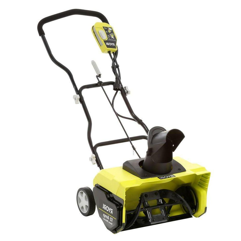 20 12 amp corded electric snow blower