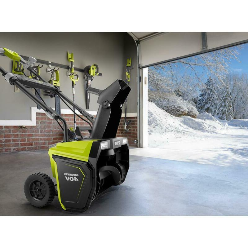20 Brushless Electric Snow Blower