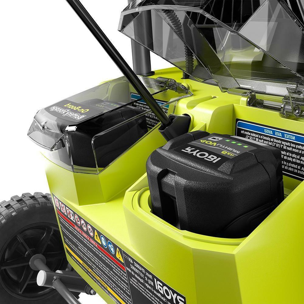 "Ryobi 20"" 40V Electric 5.0 Ah & Charger"