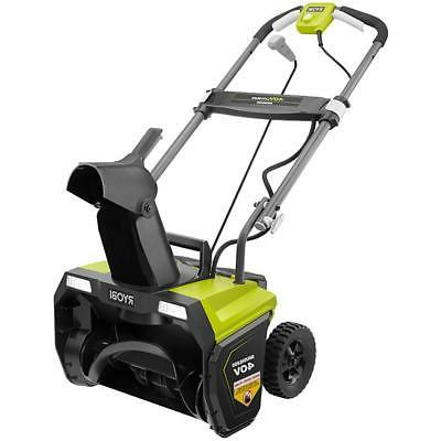 Ryobi 40-Volt Brushless Cordless Electric Snow Blower with 5.0 Battery