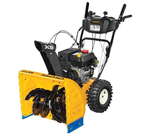 208cc two stage snow blower