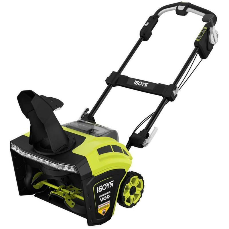 21 In. 40 Brushless Electric Blower Patio Driveway
