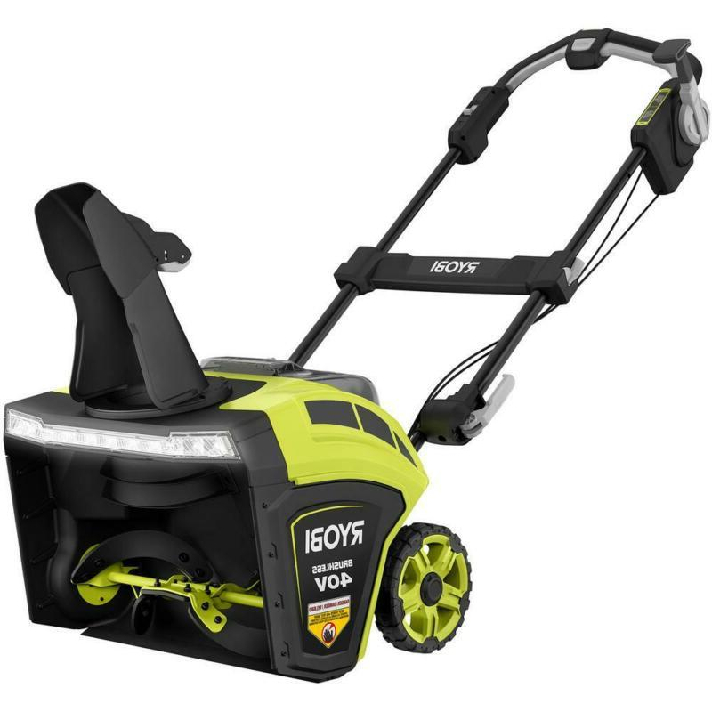 21 In. Brushless Cordless Electric Snow Blower