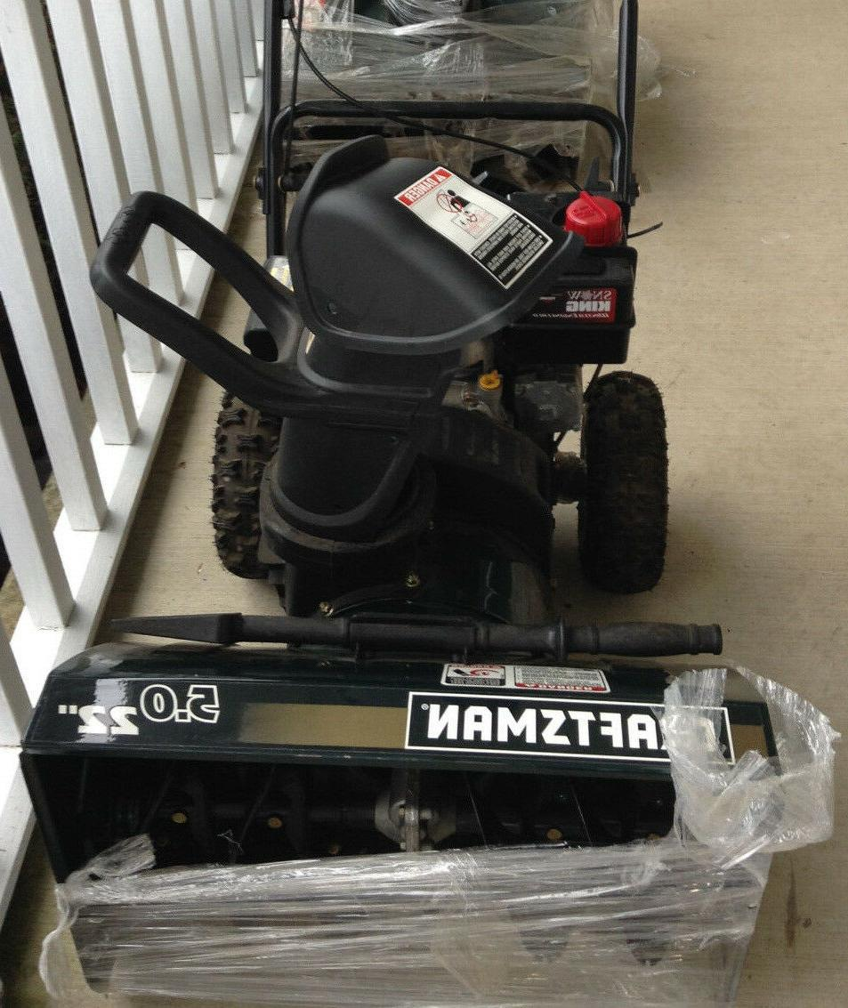22 5 0 hp snow blower new