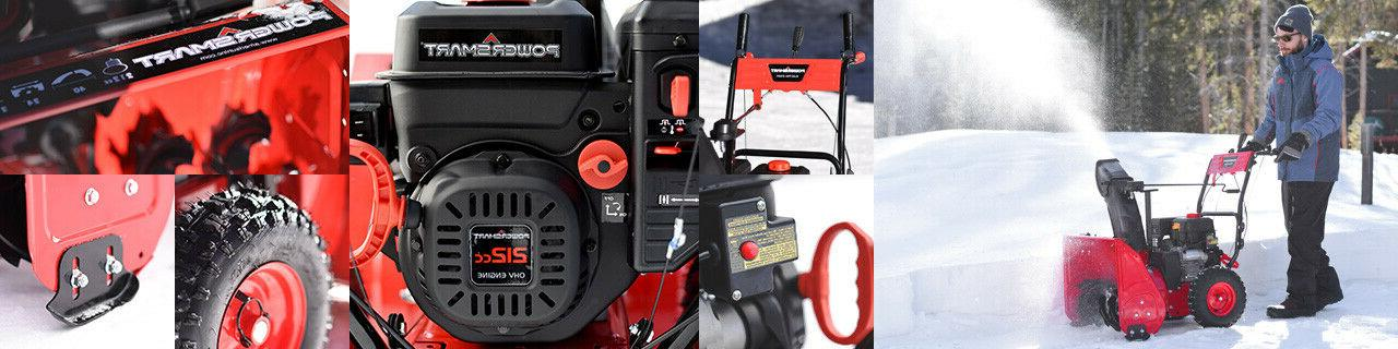 PowerSmart Two Gas Snow Blower Electric Start