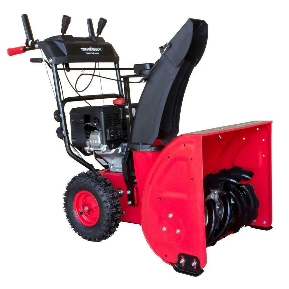 PowerSmart Two-Stage Start Gas Snow Propelled Rust Proof