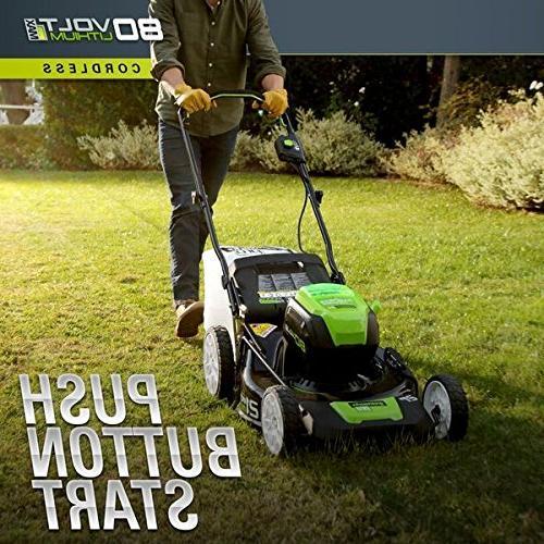 Greenworks Lithium-Ion Lawn