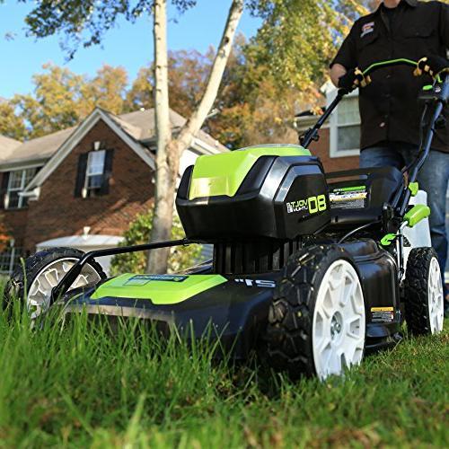 Greenworks 2502202 Lithium-Ion 21 Lawn Mower