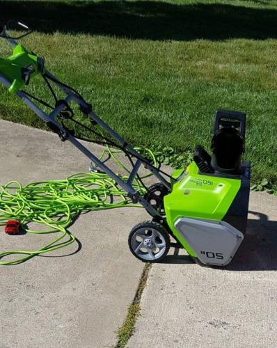 2600202 13amp corded snow thrower