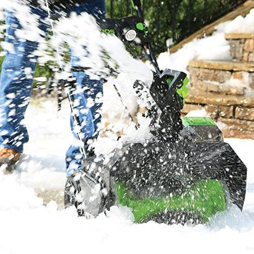 Greenworks Cordless Lithium-Ion 20 Snow Thrower Kit