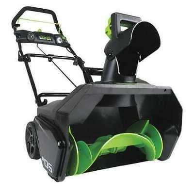 "GREENWORKS PRO 2600402 20""  80V Single-Stage Electric Snow B"