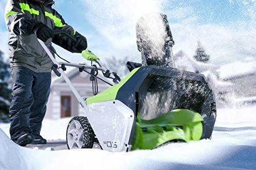 Greenworks 20-Inch 13 Corded Snow
