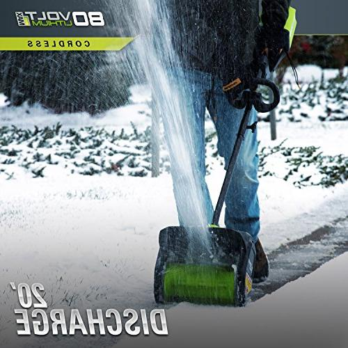 Greenworks PRO Cordless Snow 2.0 AH Battery 2600602